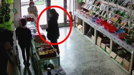 """监拍:女子商店买农药欲自杀 店员一顿怒斥将其""""骂醒""""!"""