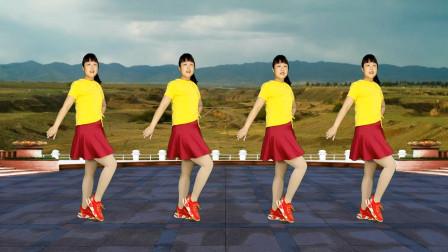 水兵舞风格广场舞《十送红军》老歌新跳,欢快好看