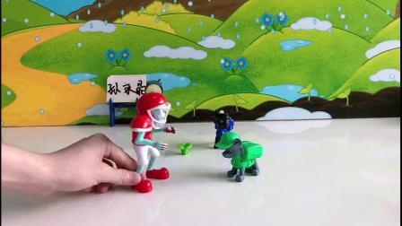 儿童玩具:僵尸居然对汪汪队下手了