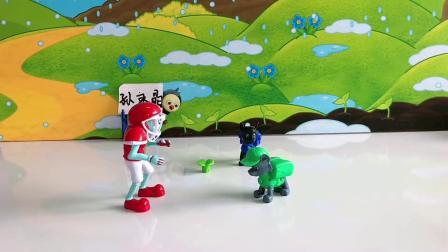 儿童玩具:汪汪队刺激到僵尸了