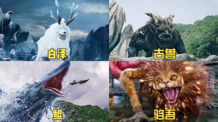 特效电影中的上古四大神兽,谁才是最厉害的?白泽就像哈士奇