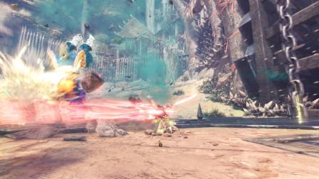 《怪物猎人世界:冰原》游戏实况攻略解说04:火龙的归宿