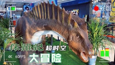 侏罗纪超时空大冒险!侏罗纪世界恐龙霸王龙暴虐龙奥特曼工程车!