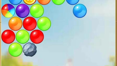 我的汤姆猫-颜色一样的泡泡,就能掉下来