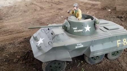 金属坦克卡车玩具日常训练
