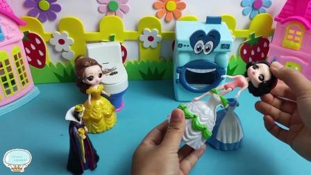 Tiramisu玩具:巫婆用魔法让王后和贝尔忘记了以前的事!