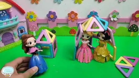 Tiramisu玩具:白雪公主为了贝儿公主变成了这样