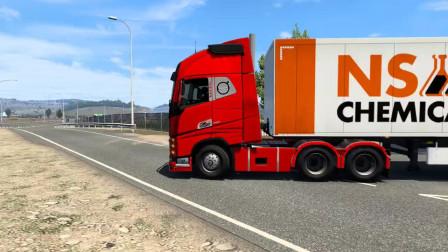 工程车视频1177大卡车运输挖土机+挖机工作+工程车工程车