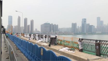 [城市记录]长沙 湘江银盆岭大桥改造工程