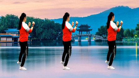 第22期:欣赏小芳一首DJ广场舞 好听好看背面演示