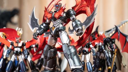 【木子模玩室】这是红与黑,血与铁的奏鸣曲!在无敌的魔神ZERO脚下颤抖吧!CCS合金成品评测~1