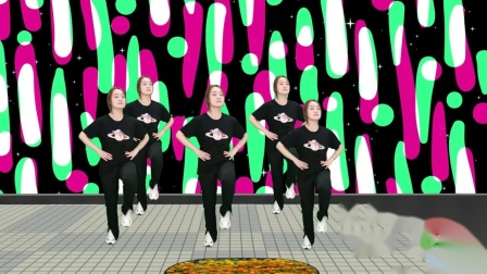 优美广场舞《兔子舞》,款款深情,深受大家的喜爱