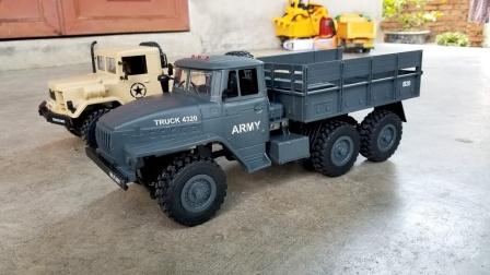 展示金属运输大卡车玩具