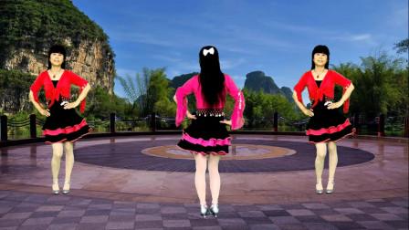 广场舞《出门在外老婆有交代》歌好听舞好看,正背面演示更易学
