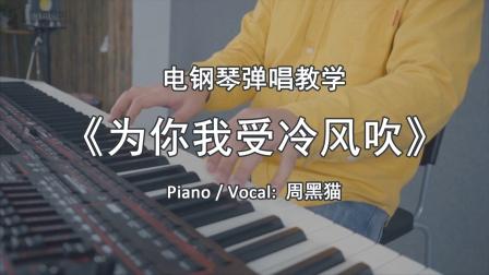 【周黑猫钢琴弹唱教学】李宗盛 《为你我受冷风吹》