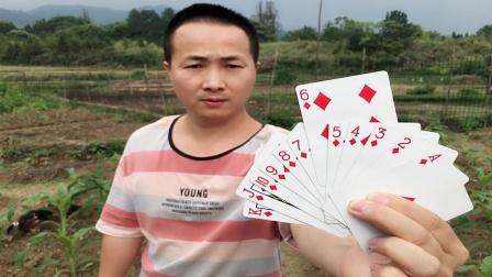 猜出观众心里记得牌,学会骗朋友玩