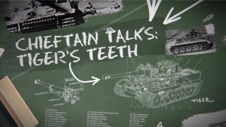 TheChieftainWoT 老虎的獠牙 虎式怎么最终选择使用8.8cm炮