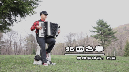 《北国之春》——手风琴独奏