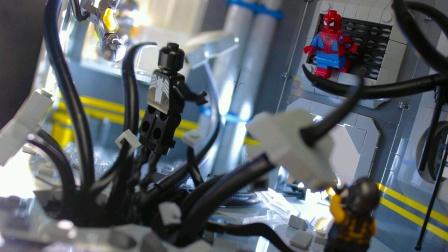 Spiderman vs Venom MOC.