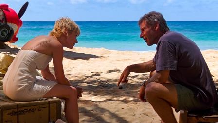 陌生男女被困荒岛6天,获救时已成为恋人!