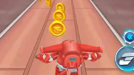 超级飞侠跑酷-乐迪血量变多后,撞巴士也理直气壮了