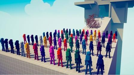 全面战争模拟器游戏 骑士组合各个兵种对战船员