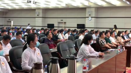 上饶市红十字会举行2021年红十字博爱周活动暨爱心捐赠仪式