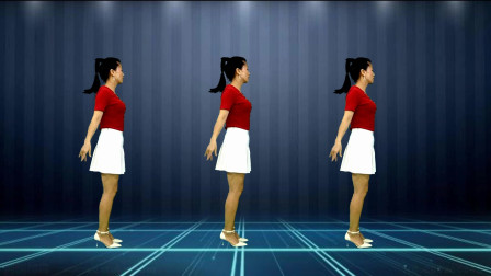 广场舞《来生再续缘》简单易学,跳起来