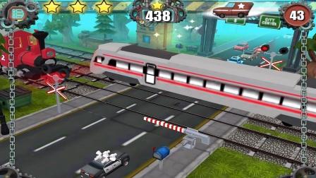 火车司机驾驶火车城市调度:城市调度员火车调度亲子游戏