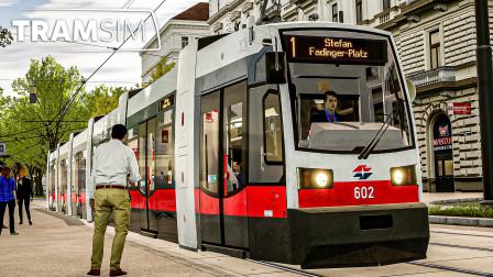 有轨电车模拟 #6:超低地板ULF型试玩 走行于早高峰的有轨电车1线 | TramSim