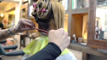 """35岁女性尴尬期头发剪成""""短内扣"""",想不到这么美,显小气质翻倍"""
