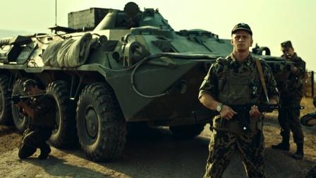俄罗斯版战狼全程高能 最强坦克轰炸战