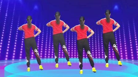 动感时尚欢快的点踏舞《我最DJ》简单易学