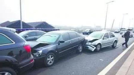 凌晨大车失控!合肥北一环13辆车受损!