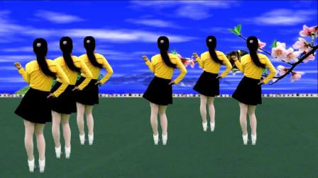 广场舞《中国丈母娘》歌曲旋律优美,舞蹈简单好看