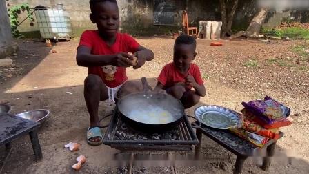 """中国泡面为何成为非洲""""高级美食""""?"""