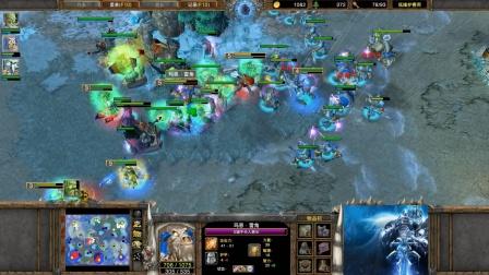 皇冠之强控对决 魔兽争霸大帝解说 120 vs FoCuS