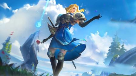 王者荣耀爆笑日记09:打野夏洛特展现花式击剑的究极奥义,野区的怪都是我的