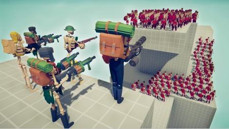 全面战争模拟器游戏 骷髅士兵特种部队强势来袭