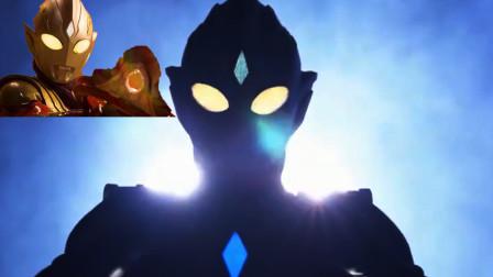 同样是额头上的水晶,迪迦只是形态的装饰品,特利迦却发射激光!