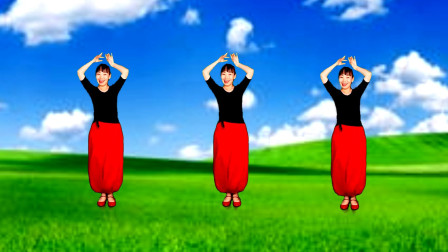 抖音火爆新舞【来跳舞】印度小调优美好看简单易学32步