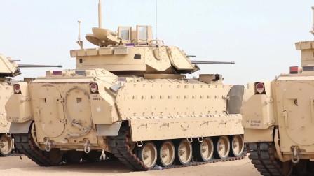 美国陆军第34步兵师的士兵进行了M2A2进行瞄准射击训练(3334)
