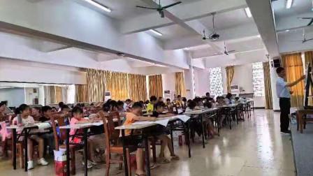 儋州市文化馆公益美术卡通画班第一节课学习作业展示