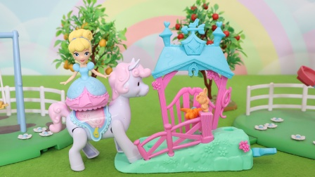 迪士尼公主:灰姑娘小马旋转跳舞玩具分享