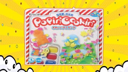 食玩:七彩调色盘DIY美味糖果玩具
