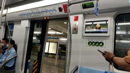 上海地铁8号线泥鳅三世黄兴路-江浦路(终点站沈杜公路)