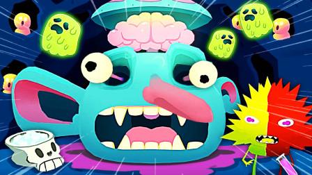 怪兽妙妙屋 我哥养在地下室的怪物要给我看它的头盖骨!小熙解说
