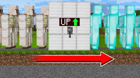 我的世界MC动画:这个铁傀儡是如何升级到钻石傀儡的