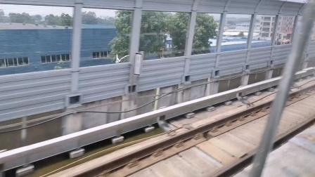 [😷]广州地铁21号线(山田➡︎朱村)运行与报站B8.(21×41-42)