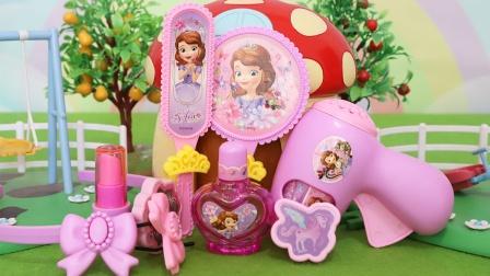小公主苏菲亚:精美装扮玩具分享